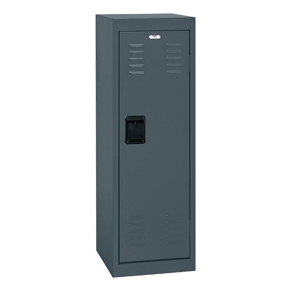 Single-Tier Child Locker - shown in charcoal