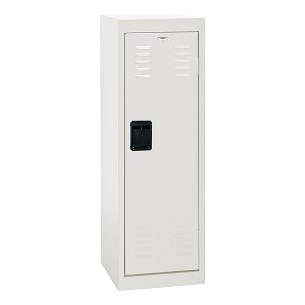 Single-Tier Child Locker - shown in white