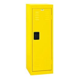 Single-Tier Child Locker - shown in yellow