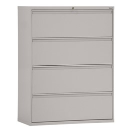 Full-Pull Lateral Filing Cabinet w/ Four Drawers