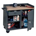 Mobile Service Bench w/ Cabinet & Drawer