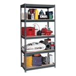 Heavy-Duty Steel Shelving