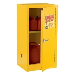 Compact Flammable Safety Single Door Cabinet (12 Gallons)