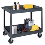Steel Two-Tray Service Cart