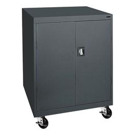 Transport Series Double-Door Counter-Height Mobile Cabinet