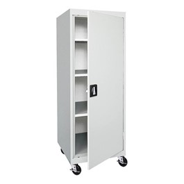 Transport Series Single-Door Mobile Storage Cabinet
