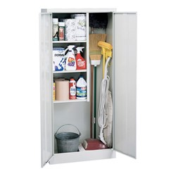 Classic Series Janitorial Supply Cabinet At School Outfitters