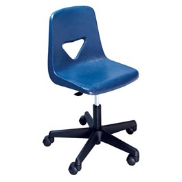 110 Series Shell Star Teacher Chair - Navy