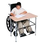 2100 ADA Wheelchair Accessible School Desk - Beige desktop