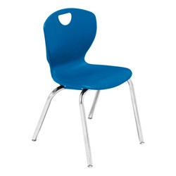 Ovation Series School Chair - Primary blue