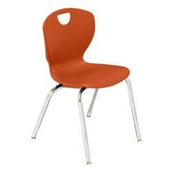Ovation Series School Chair - Tangerine