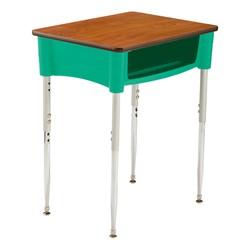 Ovation Series Open Front Desk in mint