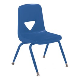 120 Series Preschool Chair w/ Painted Legs - Blue