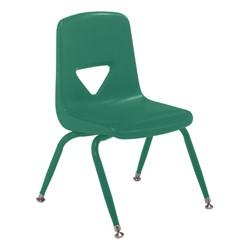 120 Series Preschool Chair w/ Painted Legs - Green