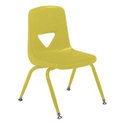 120 Series Preschool Chair w/ Painted Legs - Yellow