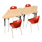 4700 Series Collaborative Learning Desk<br>Four shown