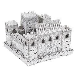 Cardboard Coloring Craft - Mini-Castle