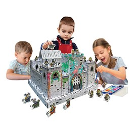 School Outfitters Cardboard Coloring Craft - Mini-Castle ...