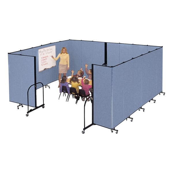 "6' 8"" H Freestanding Portable Partition"