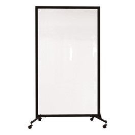 "6\' 2"" H Clear Portable Room Partition"