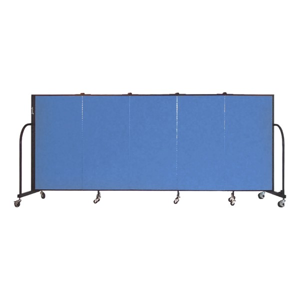 4' H Freestanding Portable Partition-Fhown nd Open