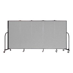 5' H Freestanding Portable Partition
