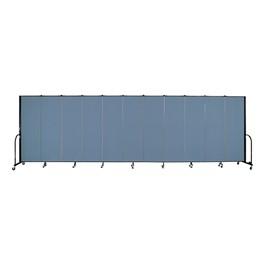 """6\' H Freestanding Portable Partition 11 Panels (20\' 5\"""" L) - Promo"""