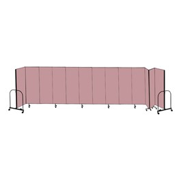 6\' H Freestanding Portable Partition (13 Panels)