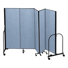 5\' H Freestanding Portable Partition