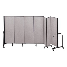 6\' H Freestanding Portable Partition