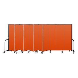 """6\' 8\""\"" H Freestanding Portable Partition - Promo-Phown st Or\"""
