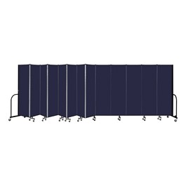 """6\' 8\""\"" H Freestanding Portable Partition - Promo-Phown st Nv\"""