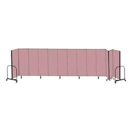 """8\' H Freestanding Portable Partition - 13 Panels (24\' 1\"""" L)"""
