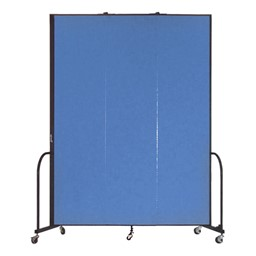 """8' H Freestanding Portable Partition - Three Panels (5' 9"""" L)"""
