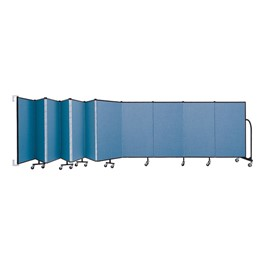 4\' H Wall-Mount Partition - 11 Panels