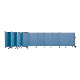 4\' H Wall-Mount Partition - 13 Panels