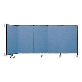 4\' H Wall-Mount Partition - Five Panels