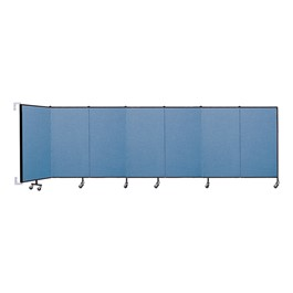 4\' H Wall-Mount Partition- Seven Panels