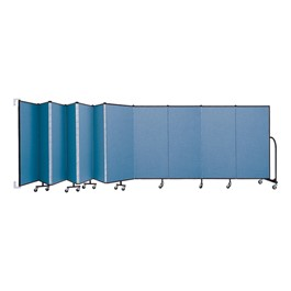5\' H Wall-Mount Partition - 11 Panels