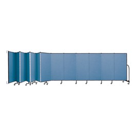 5\' H Wall-Mount Partition - 13 Panels