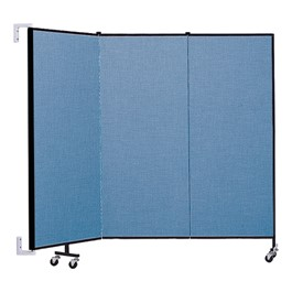 5\' H Wall-Mount Partition - 3 Panels