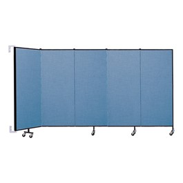 5\' H Wall-Mount Partition - 5 Panels