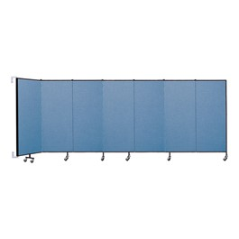 5\' H Wall-Mount Partition - 7 Panels