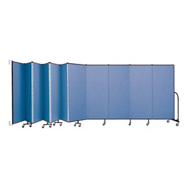 6\' H Wall-Mount Partition - 11 Panels