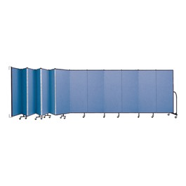 6\' H Wall-Mount Partition - 13 Panels