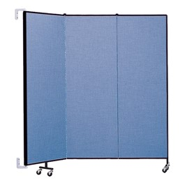6\' H Wall-Mount Partition - Three Panels