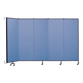 6\' H Wall-Mount Partition - Five Panels