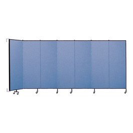 6\' H Wall-Mount Partition - Seven Panels