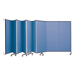 6\' H Wall-Mount Partition - Shown w/ Nine Panels
