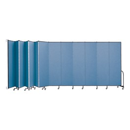 8\' H Wall-Mount Partition - 13 Panels